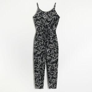 Reserved - Ladies` jumpsuit - Čierna
