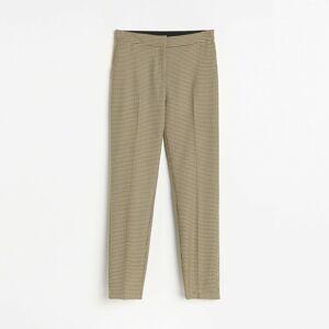 Reserved - Kockované nohavice - Viacfarebná