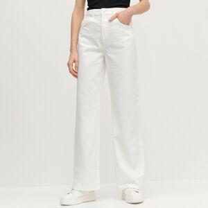 Reserved - Ladies` trousers - Biela
