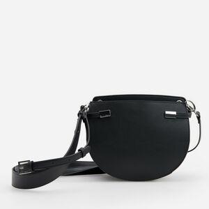 Reserved - Kabelka s odnímateľnými ramienkami - Čierna