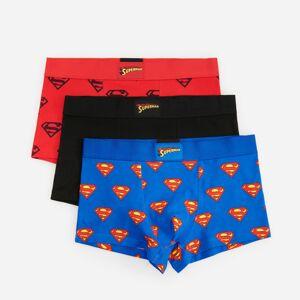 Reserved - Men`s boxer shorts - Modrá