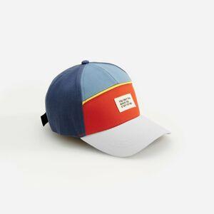 Reserved - Vzorovaná čiapka so šiltom - Tmavomodrá