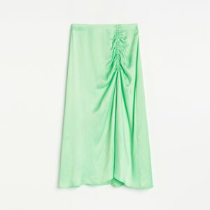 Reserved - Ladies` skirt - Zelená