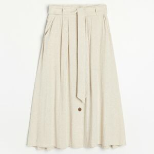 Reserved - Ladies` skirt - Béžová