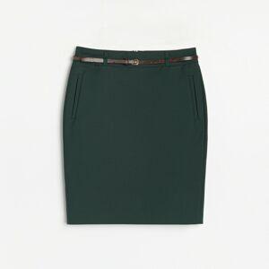 Reserved - Puzdrová sukňa - Khaki