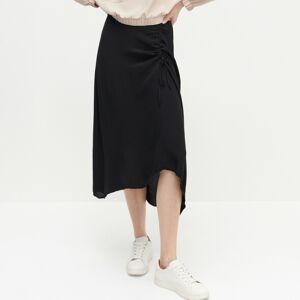 Reserved - Ladies` skirt - Čierna