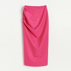 Reserved - Puzdrová sukňa - Ružová