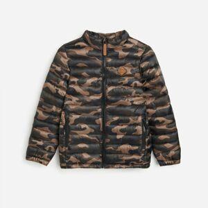 Reserved - Prešívaná bunda so stojačikom - Khaki