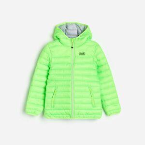 Reserved - Prešívaná bunda s kapucňou - Zelená