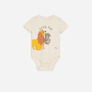 Reserved - Babies` body suit - Krémová