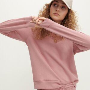 Reserved - Mikina z organickej bavlny - Ružová