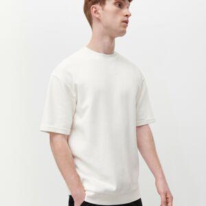 Reserved - Tričko z organickej bavlny - Krémová