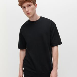 Reserved - Tričko z organickej bavlny - Čierna
