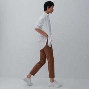 Reserved - Nohavice s vysokým pásom - Hnědá