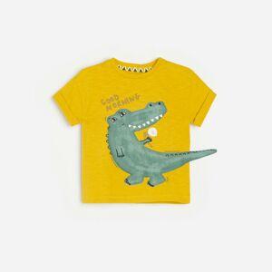 Reserved - Babies` t-shirt - Žltá