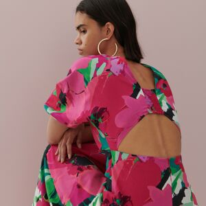 Reserved - Vzorované šaty - Viacfarebná