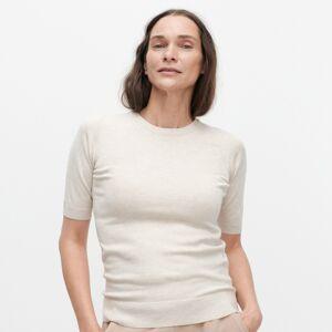 Reserved - Ľahký sveter s prímesou viskózy - Béžová