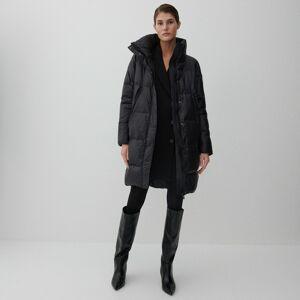 Reserved - Prešívaný kabát - Čierna