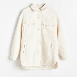 Reserved - Ladies` jacket - Krémová