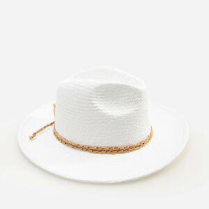 Reserved - Ladies` hat - Krémová