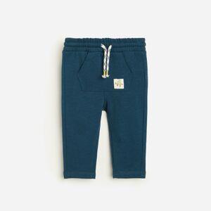 Reserved - Teplákové nohavice - Tmavomodrá
