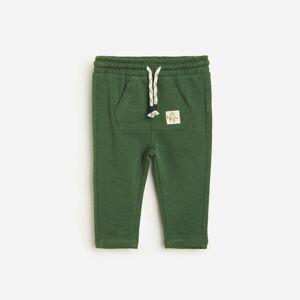 Reserved - Teplákové nohavice - Khaki