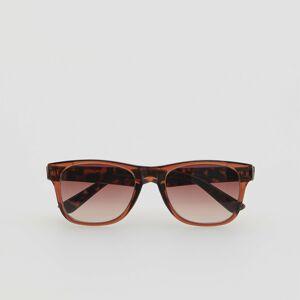 Reserved - Slnečné okuliare so zvieracím motívom - Hnědá
