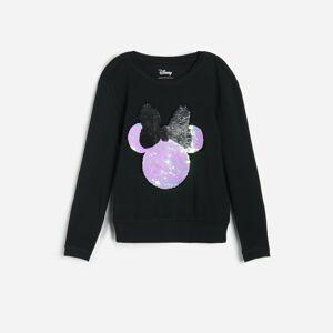Reserved - Girls` t-shirt - Čierna