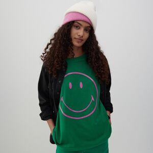 Reserved - Bavlnené tričko spotlačou - Zelená