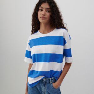 Reserved - Bavlnené tričko - Modrá