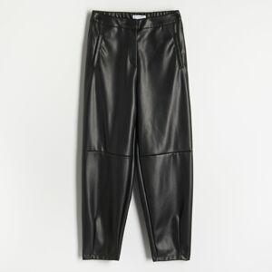 Reserved - Široké nohavice - Čierna