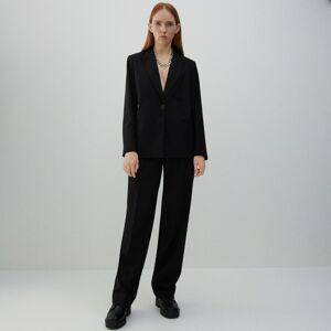 Reserved - Pukové nohavice - Čierna