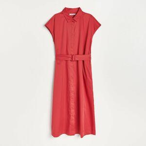 Reserved - Bavlnené šaty - Červená