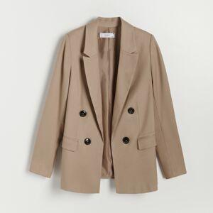 Reserved - Ladies` blazer - Béžová