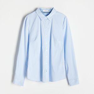 Reserved - Kockovaná košeľa - Modrá