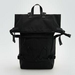 Reserved - Zvinovací ruksak - Čierna