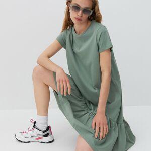 Reserved - Bavlnené šaty - Zelená