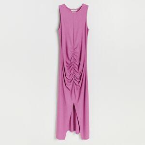 Reserved - Úpletové šaty - Ružová