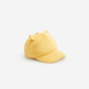 Reserved - Šiltovka z umelého semišu - Žltá