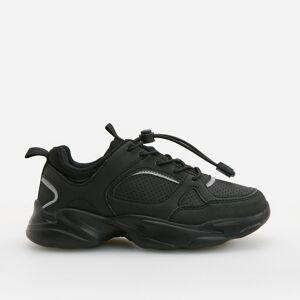 Reserved - Pánske tenisky-vychádzková obuv - Čierna