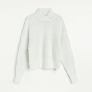 Reserved - Ladies` sweater - Biela