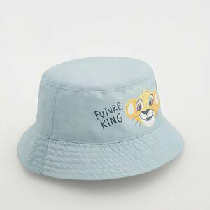 Reserved - Klobúk typu bucket s potlačou The Lion King - Modrá