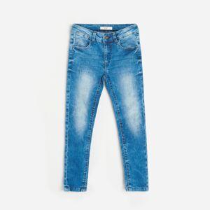 Reserved - Džínsy slim fit s prímesou materiálu Tencel™ - Modrá