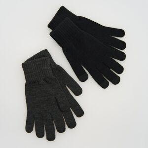 Reserved - Men`s gloves - Čierna