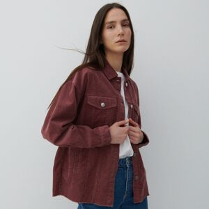 Reserved - Menčestrová bunda - Ružová