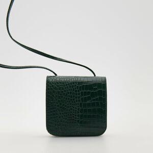 Reserved - Kabelka z umelej kože - Khaki