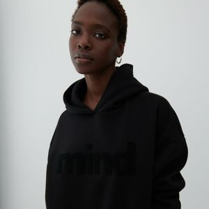 Reserved - Oversize pulóver - Čierna