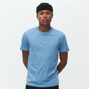 Reserved - Bavlnené basic tričko - Modrá