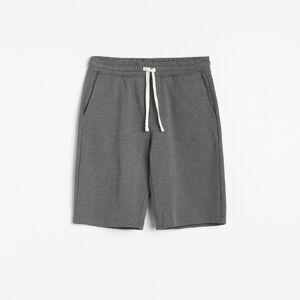 Reserved - Basic teplákové šortky - Šedá