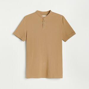 Reserved - Tričko polo - Béžová